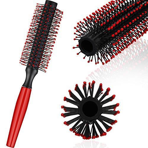 Tolle Roller Rund Herren Haarbürste Tolle Kamm Rund Haar Styling Bürste für Föhnen von Haaren Styling Werkzeug (1 Packung)