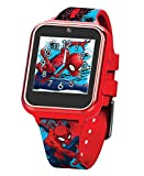 OFFICIAL Spider-Man kid's smartwatch with selfie-cam, voice recorder, 3x games, pedometer, alarm, stopwatch, and calculator FUN SELFIE-CAM AND VIDEO, download your awesome photos and videos - share these priceless moments with friends and family in a...