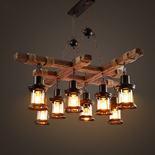 candelabro de madera de la marca Pendant lights