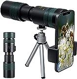 Monoculare Professionale Potente, Telescopio Monoculare 4k 10-300x40mm Impermeabile HD BAK4 Prisma...