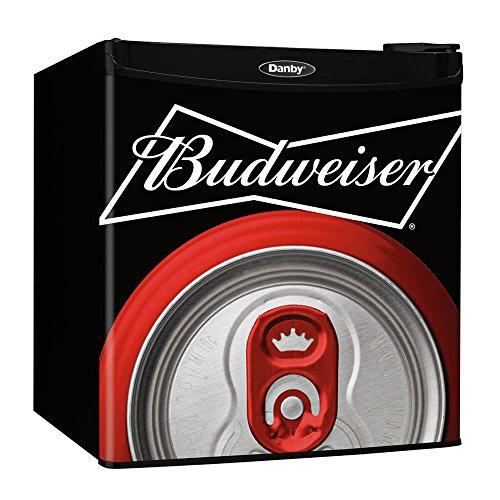 Danby Budweiser Beer Compact Refrigerator Dorm Home Beverage Cooler Mini Fridge