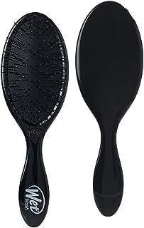 Wet Brush Hair Brush Original Detangler-Triangles Pattern (Black) - Exclusive Ultra-soft IntelliFlex Bristles - Glide Th...