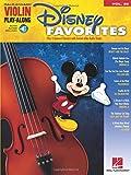 Violin Play-Along Volume 29: Disney Favorites: Play-Along, CD für Violine (Hal Leonard Violin Play-along, Band 29)