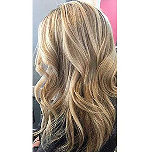 Moresoo Seamless Tape in Human Hair Extensions 20inch Highlight Colorful Medium Brown #6 Highlighted with #60 Platinum Blonde Full Head Extensions Glue in Hair Extensions 20PCS 50G Per Pack (Brown Hair With Full Head Of Highlights)