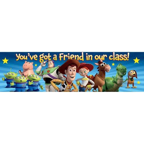 Eureka Toy Story You've Got A Friend Classroom Banner