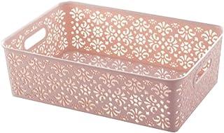 Lpiotyucwh Paniers et Boîtes De Rangement, Boîte de rangement en plastique, cosmétiques, collations, boîte de rangement de...