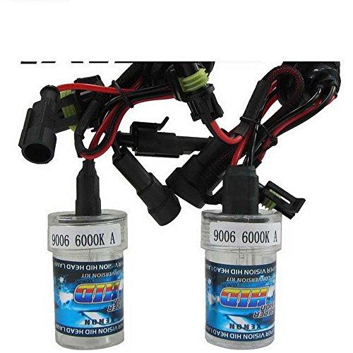 Boomboost New Car Xenon HID Ampoule une paire de xénon HID lampe 9006 6000 K