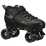 Pacer GTX-500 Roller Skates - Newly Revised Model (Black, Mens 4/Ladies 5)