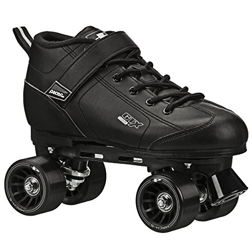 Pacer GTX-500 Roller Skates - Newly Revised Model (Black, Mens 6/Ladies 7)