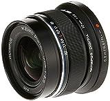 Olympus M.Zuiko Digital ED 12mm F2.0 Lens, for Micro Four Thirds Cameras (Black)