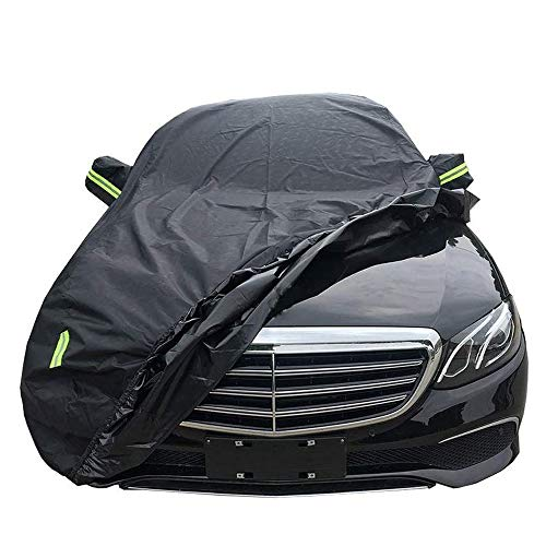 Rhelf Autoabdeckung Kompatibel mit verschiedenen Autoabdeckungen Auto Abdeckung kompatibel mit Mercedes-Serie Autoabdeckung wasserdicht, regendicht, winddicht, UV-beständig Innen- und Außenautoabdecku
