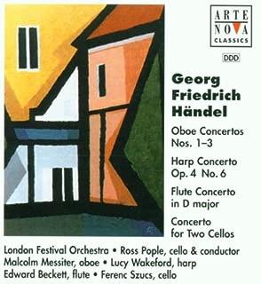 Handel: Concertos for Oboe/Harp/Flute/Two Cellos