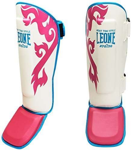 LEONE 1947 Muay Thai, Paratibia para Mujer, Mujer, PT118, Fucsia, S