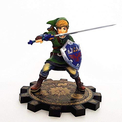 ANMINA Figuras Link Sword Anime Toy Model Moll Zelda Sword Anime Modelo Coleccionables Anime Regalos Juguetes Modelo Kits