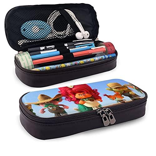 Tr-Ol-Ls - Estuche para lápices de papelería, suministros escolares, bolsa de viaje para cosméticos