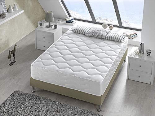 Bellavista Home Matratze Bali HÖHE 25 cm 90x190x25 cm. Memory Forme Gel Fresh sorgt für eine ständige Belüftung und Einer Temperatur- und Feuchtigkeitsregulierung, HÄRTEGRAD H2-H3.