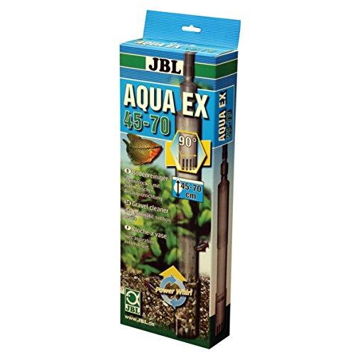 JBL Aqua Ex Set 45 - 70 cm Höhe, Bodenreiniger für Aquarien mit automatischer Ansaugvorrichtung
