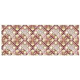 Etiqueta engomada del Piso, Etiqueta engomada de la Pared del azulejo de imitación 10Pcs / Set para la Cocina para Las escaleras para el Cuarto de baño(6)