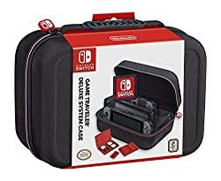 A travel case perfect for all gamers take your console everywhere separate mesh compartments for Joy-Con, adapter and more perfect to hold our chargers and cables as well now you can take your Nintendo wherever you go!