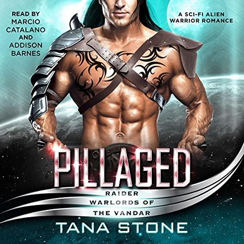 Pillaged: A Sci-Fi Alien Warrior Romance: Raider Warlords of the Vandar, Book 3