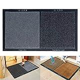 NIVNI Alfombrilla desinfectante para zapatos, alfombras de entrada lavables Alfombrilla para suelo Alfombrilla absorbente de agua Alfombras Felpudos Alfombrilla antideslizante para el hogar, la cocina