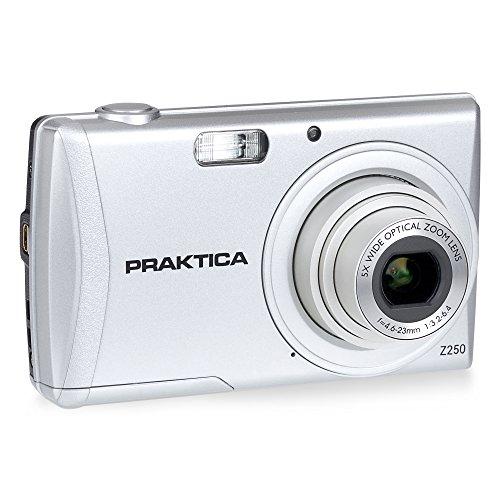 PRAKTICA Luxmedia Z250 Kamera Silber 20MP 5xZoom 64MB speicher