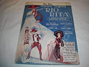 RIO RITA FLORENZ ZIEGFELD 1926 SHEET MUSIC SHEET MUSIC 255