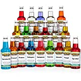 Hawaiian Shaved Ice Syrup 20 Pack, Pints