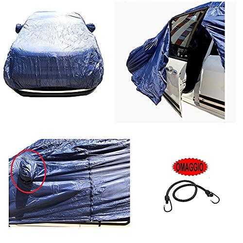 Compatible con Dacia Duster 1.6 115 CV SeS 4 x 2 SeS SS Brave2 Funda para coche de nailon impermeable Talla L Capota antiarañazos 432 x 185 x 120 cm universal