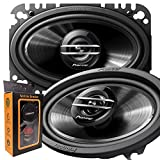 Best 4x6 Car Speakers - Pair of Pioneer TS-G4620S 400W Max (60W Rms) Review