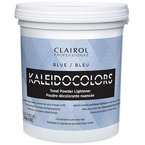 Price comparison product image Clairol Professional Kaleidocolors Lightener Hair Color,  Blue,  8 Ounce