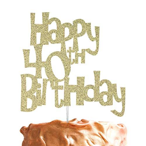 Décoration de gâteau pour anniversaire de 40 ans