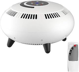 MAI&BAO Calefactor 2000W Calentador de Espacio Eléctrico Portátil Personal para Cuarto Baño Oficina,Regulación de la Temperatura, con Control Remoto,Blanco