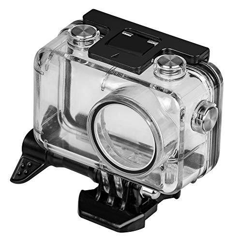 Yifant Wasserdichtes Gehäuse für DJI OSMO Action Kamera Zubehör Unterwasserschutz Hartschale mit Halterung