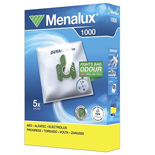 Menalux 1000 - Pack 5 bolsas 1 filtro aspiradoras