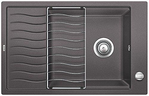 Blanco ELON XL 6S, cocina fregadero, SILGRANIT Puradur, Gris, 518736