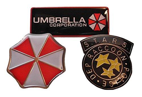 Main Street 24/7Erwachsene Resident Evil Pin Set