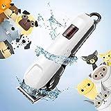 【切れ味抜群】ペット用 バリカン 犬 猫 グルーミング バリカン Looffy 刈り高さ調整可能 低騒音 低振動 充電式 コードレス 水洗い可能の刃 初心者 プロ用 部分 全身カット 犬用 トリミング バリカン 小型 中型 大型犬に適用 ペットクリッパー 日本語説明書付き