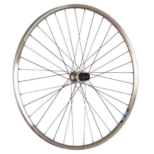 Taylor-Wheels 28 Zoll Hinterrad ZAC19 Hohlkammerfelge/Deore Nabe 7/10-fach - Silber