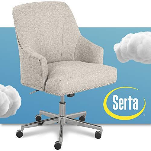 Serta Leighton Home Office Chair Lure Light Gray Buy Online In Cambodia Serta Products In Cambodia See Prices Reviews And Free Delivery Over 27 000 Desertcart