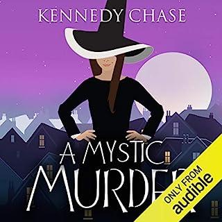 A Mystic Murder audiobook cover art