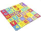 Jueyan® 36 Piezas Alfombras Infantil Alfombras Puzzle de Goma EVA...