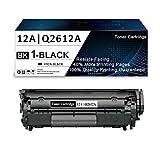 1 Pack Black 12A | Q2612A Compatible Toner...