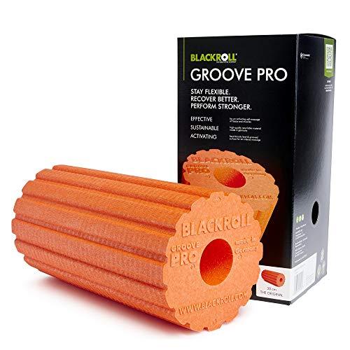 Blackroll Groove Pro Rolle für Selbstmassage, Unisex, für Erwachsene, unisex - erwachsene, BRGRPORC, Arancione