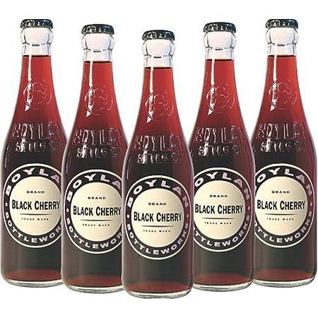 Boylan Black Cherry Soda, 12 Fl Oz (Pack of 12)