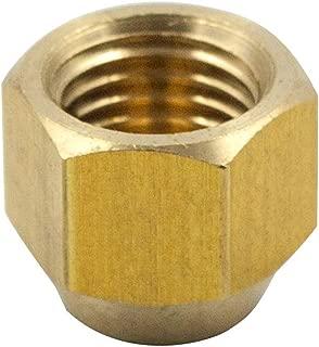 Legines Brass Flare Cap, 5/8