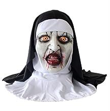 tytlmask Horror Clown Latex Masker, Zombie Bone Sk...