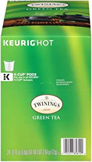 Twinings of London Green Tea K-Cups for Keurig, 24 Count (Pack of 2)