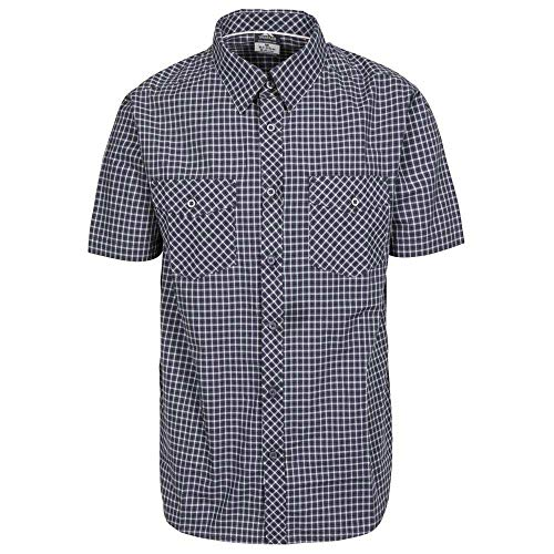 Trespass Uttoxeter p s Camisa, Hombre, DGH, XL