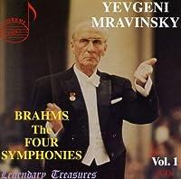 Brahms: The Four Symphonies ~ Mravinsky by J. Brahms (2013-05-03)